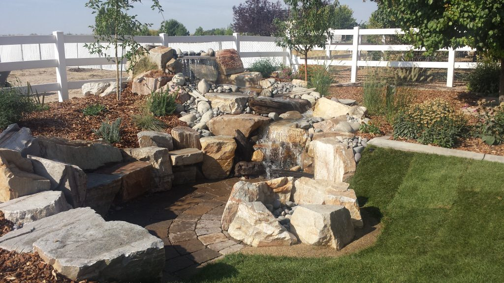Designed and installed by Kimberly Nurseries, a professional landscape contractor